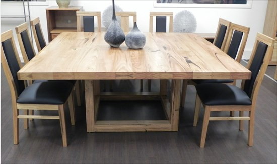 Atlas square dining table instyle living watchthetrailerfo